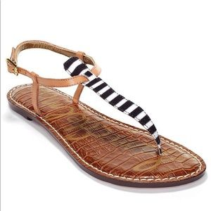 Sam Edelman Gigi Leather Sandals Sz 10